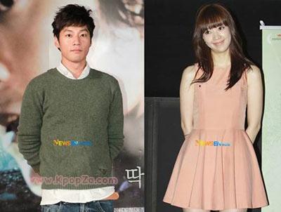 สองนักแสดงหนุ่มสาว lee chun hee