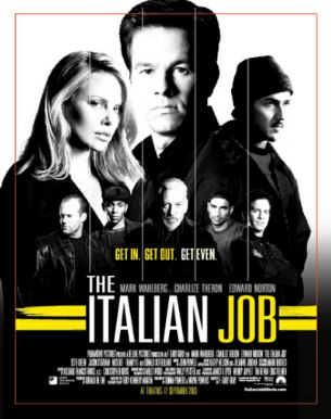 - The ITALIAN JOB ปล้นซ้อนปล้น พลิกถนนล่า -