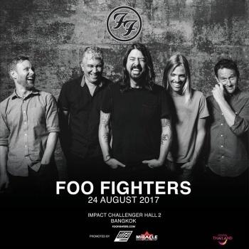 Foo Fighters Live In Bangkok 2017