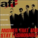 อัลบัม Answer That and Stay Fashionable