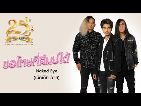เนื้อเพลง ขอโทษที่ลืมบ่ได้ | เน็คเก็ท-อ้าย Naked Eye | เพลงไทย
